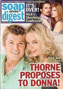 Soap Opera Digest Aug. 14, 2007