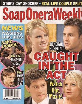 Soap Opera Weekly August 14, 2007