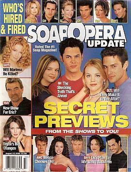 Soap Opera Update August 15, 2000