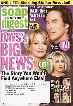 Soap Opera Digest Aug. 15, 2006