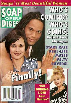Soap Opera Digest - August 15, 1995