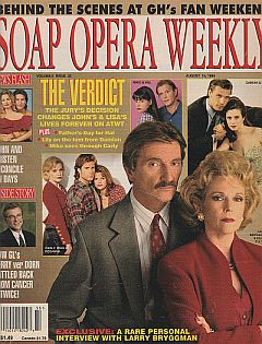 Soap Opera Weekly August 15, 1995