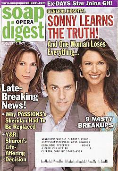 Soap Opera Digest Aug. 16, 2005