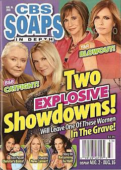 CBS Soaps In Depth August 16, 2010