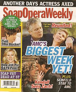 Soap Opera Weekly - August 16, 2011