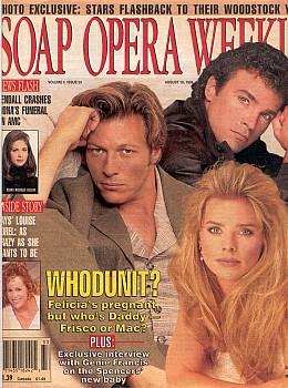 Soap Opera Weekly August 16, 1994