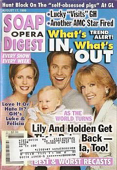 Soap Opera Digest - August 17, 1999