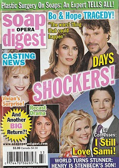 Soap Opera Digest August 18, 2009