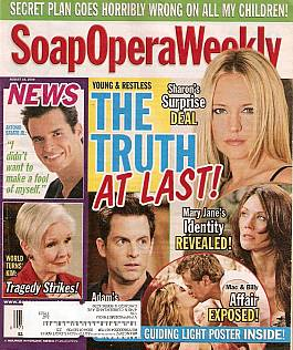 Soap Opera Weekly Aug. 18, 2009