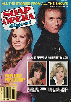 August 18, 1981 issue of Soap Opera Digest
