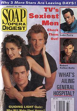 Soap Opera Digest August 18, 1992