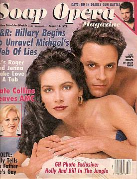 Soap Opera Magazine Aug. 18, 1992
