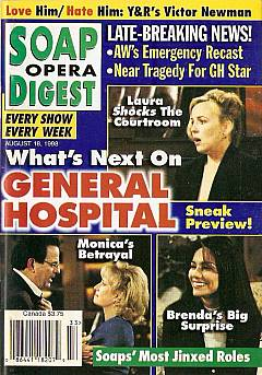 Soap Opera Digest - August 18, 1998