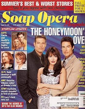 Soap Opera Magazine August 18, 1998
