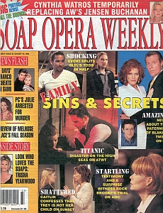 Soap Opera Weekly August 18, 1998