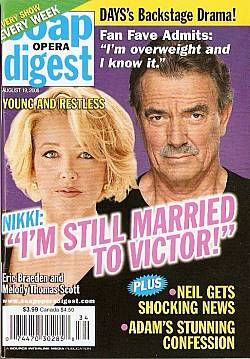 Soap Opera Digest August 19, 2008