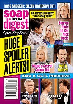 Soap Opera Digest Aug. 19, 2013