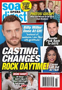 Soap Opera Digest Aug. 19, 2019