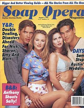 Soap Opera Magazine August 1, 1995