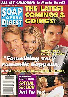 Soap Opera Digest - August 19, 1997