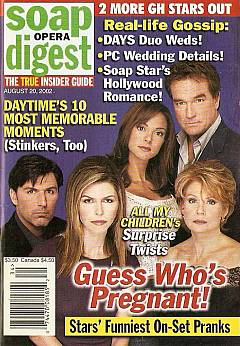Soap Opera Digest Aug. 20, 2002