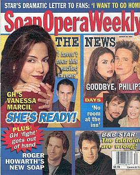 Soap Opera Weekly August 20, 2002