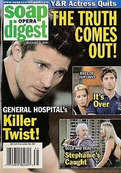 Soap Opera Digest Aug. 2, 2005