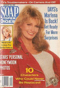 August 20, 1991 Soap Opera Digest