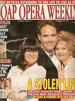 Soap Opera Weekly August 20, 1991