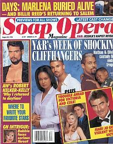 Soap Opera Magazine August 20, 1996