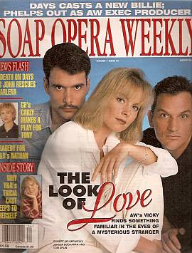 Soap Opera Weekly August 20, 1996