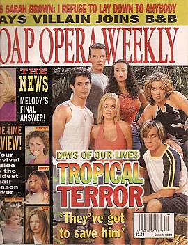 Soap Opera Weekly August 21, 2001