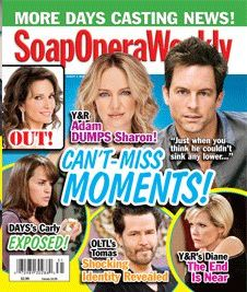 Soap Opera Weekly - August 2, 2011