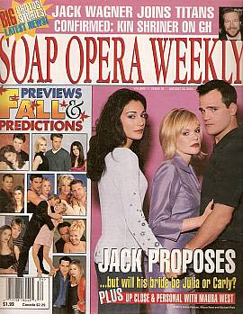 Soap Opera Weekly August 22, 2000
