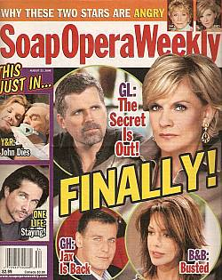 Soap Opera Weekly August 22, 2006