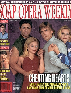 Soap Opera Weekly August 22, 1995