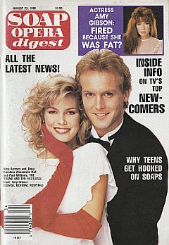 Soap Opera Digest August 23, 1988
