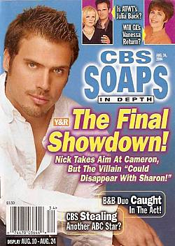 CBS Soaps In Depth August 24, 2004