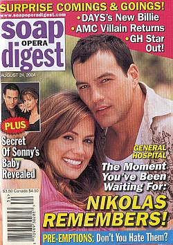 Soap Opera Digest Aug. 24, 2004