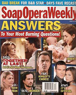 Soap Opera Weekly August 24, 2004
