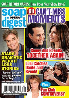 Soap Opera Digest August 24, 2010