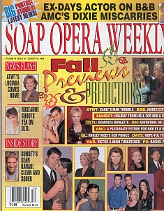Soap Opera Weekly August 24, 1999