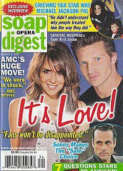 Soap Opera Digest August 25, 2009