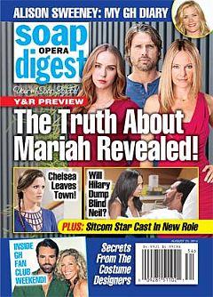 Soap Opera Digest Aug. 25, 2014
