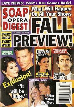 Soap Opera Digest - August 25, 1998