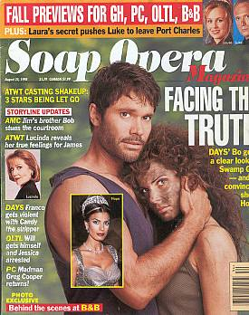 Soap Opera Magazine August 25, 1998