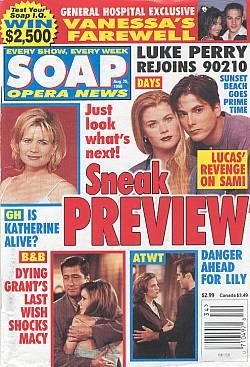 Soap Opera News August 25, 1998