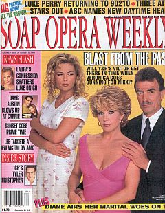 Soap Opera Weekly August 25, 1998