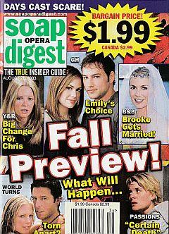 Soap Opera Digest Aug. 26, 2003