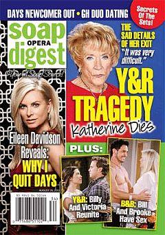 Soap Opera Digest Aug. 26, 2013